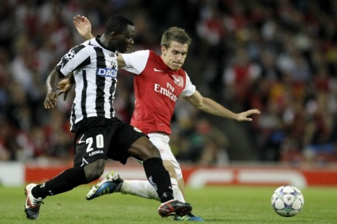 Udinese-Arsenal segui la diretta Tv sul tuo pc