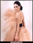 Dita Von Teese in rosa